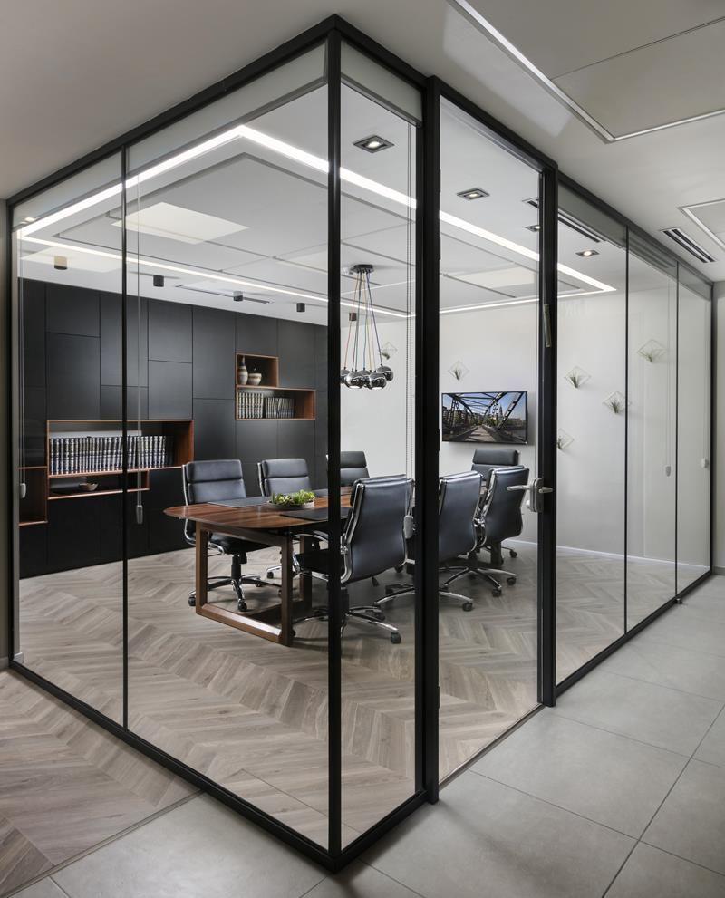 Aluminium glass partion designspace